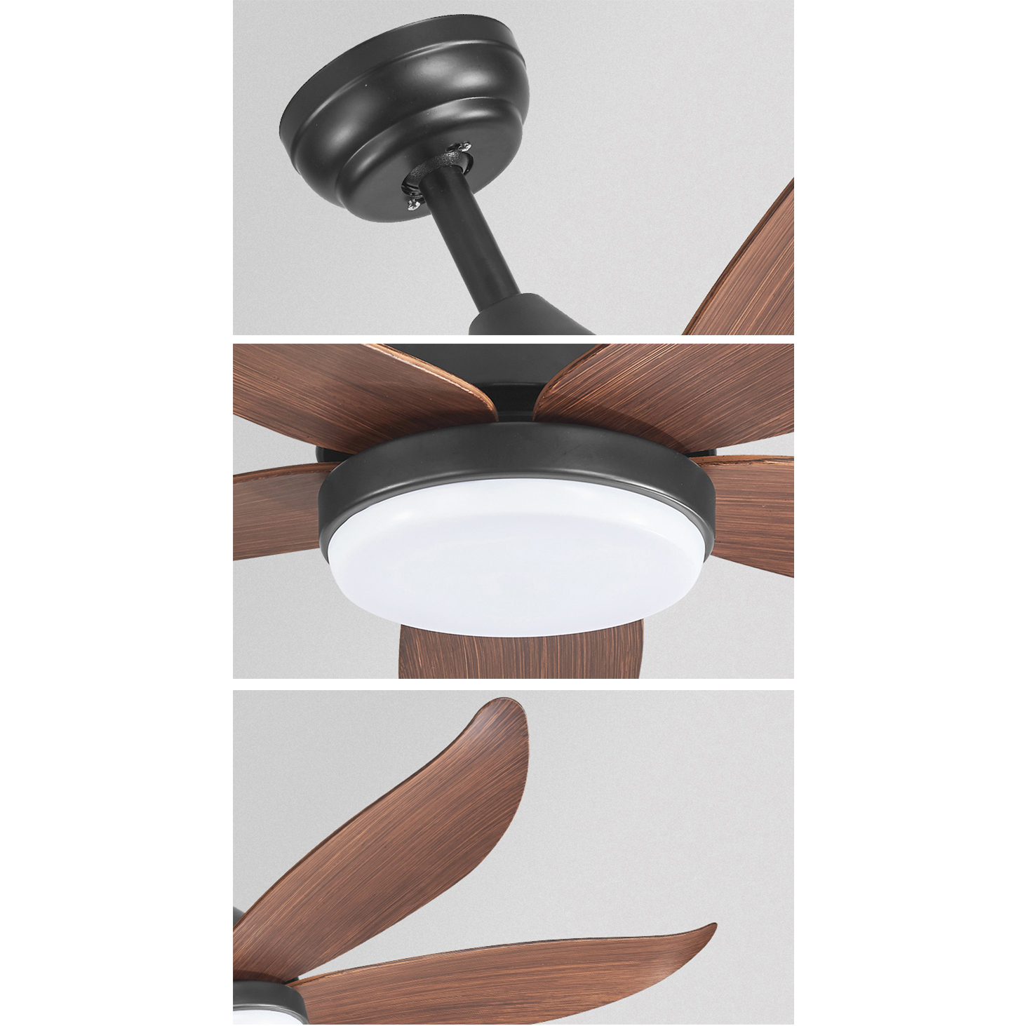 Quạt trần đèn hiện đại HomeFan660