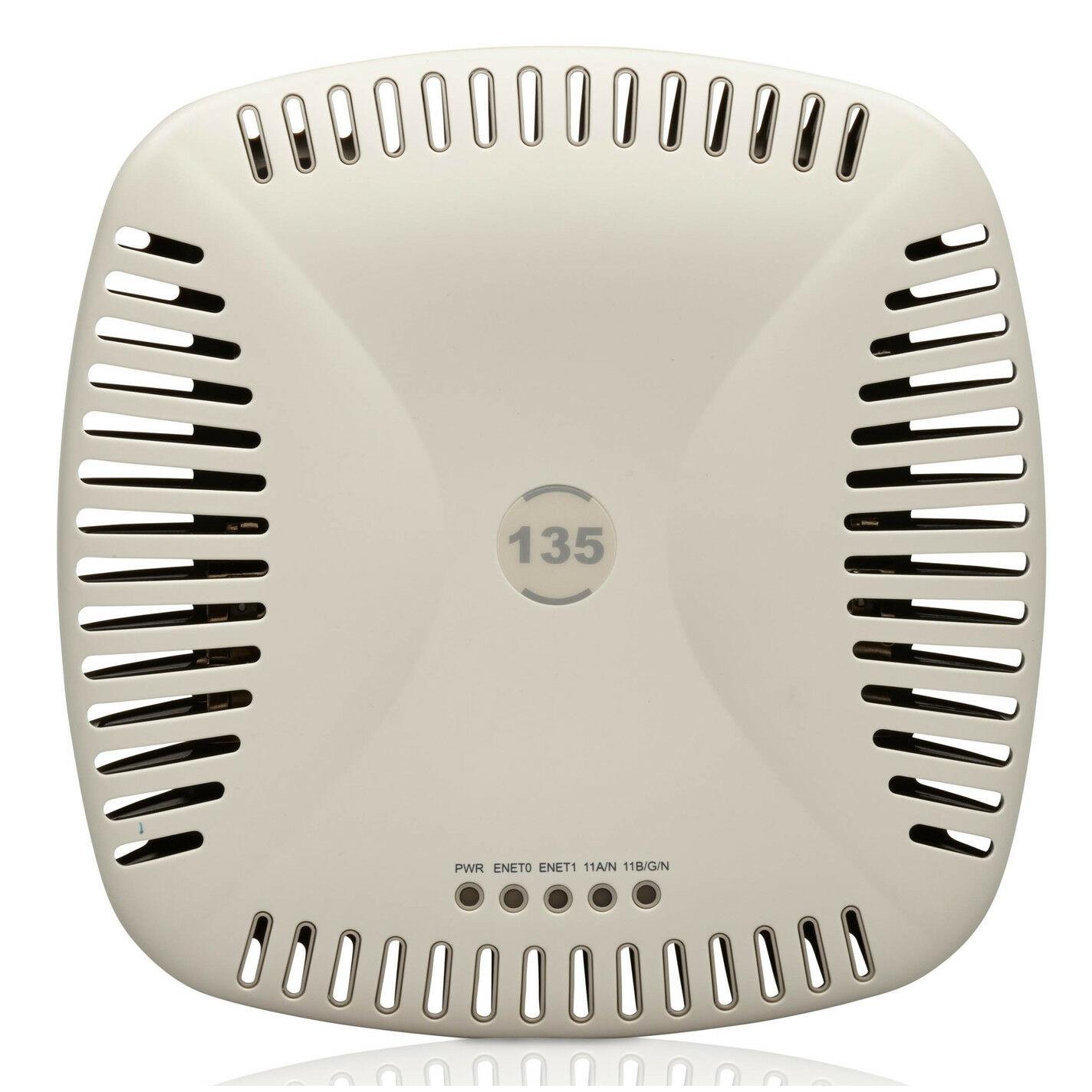 Bộ phát sóng wifi chuyên dụng Aruba AP/IAP-135 (LikeNew) - Hàng chính hãng - Phát wifi trên 2 băng tần là 2,4Ghz và 5Ghz - Sử dụng công nghệ MACSec để chống trộm wifi và chặn repeater