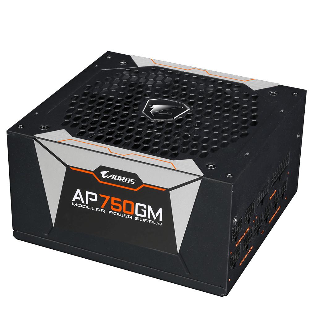 Nguồn máy tính GIGABYTE AORUS GP-AP750GM 750W 80 Plus GOLD Modular  - Hàng Chính Hãng