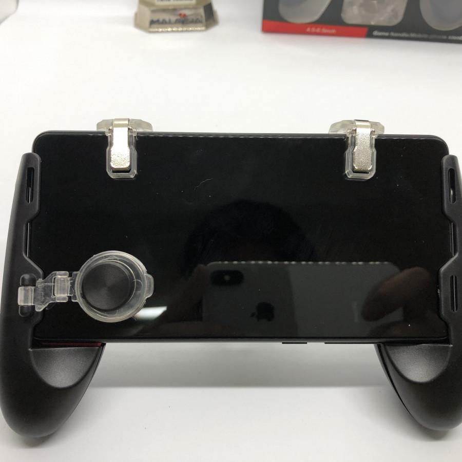 Tay cầm có nút bắn hỗ trợ chơi game cho điện thoại từ 4,5in - 7in