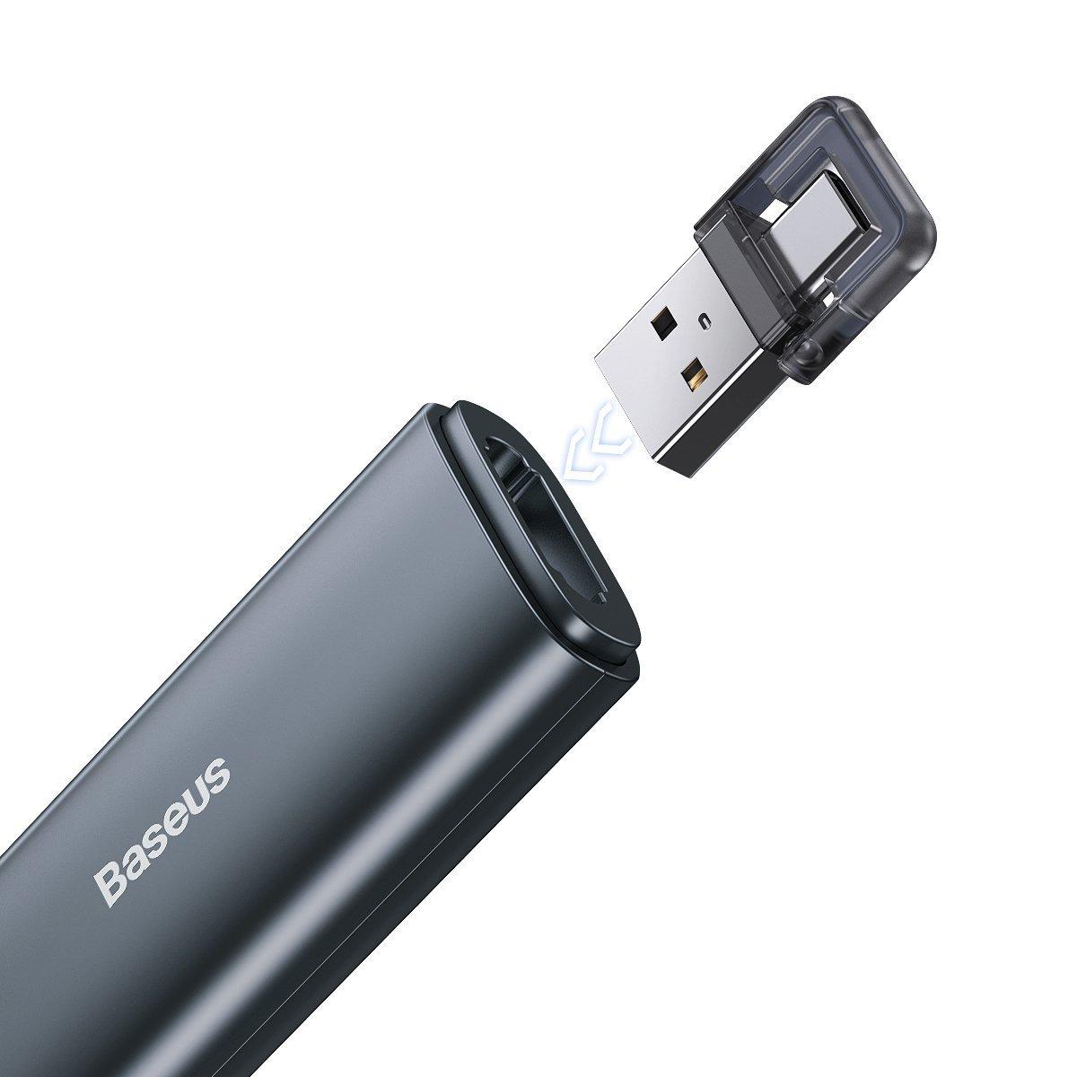 Bút Laser trình chiếu Baseus Orange Dot Wireless Presenter - Hàng nhập khẩu