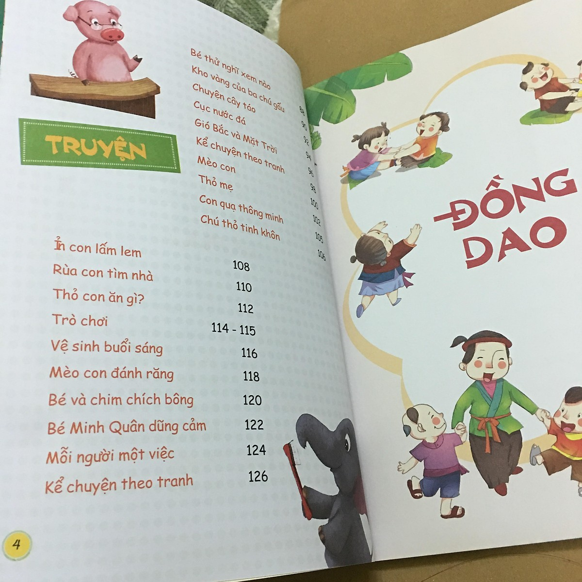 Combo 2 quyển Đồng giao thơ truyện cho bé tập nói + Truyện ngụ ngôn cho bé tập đọc