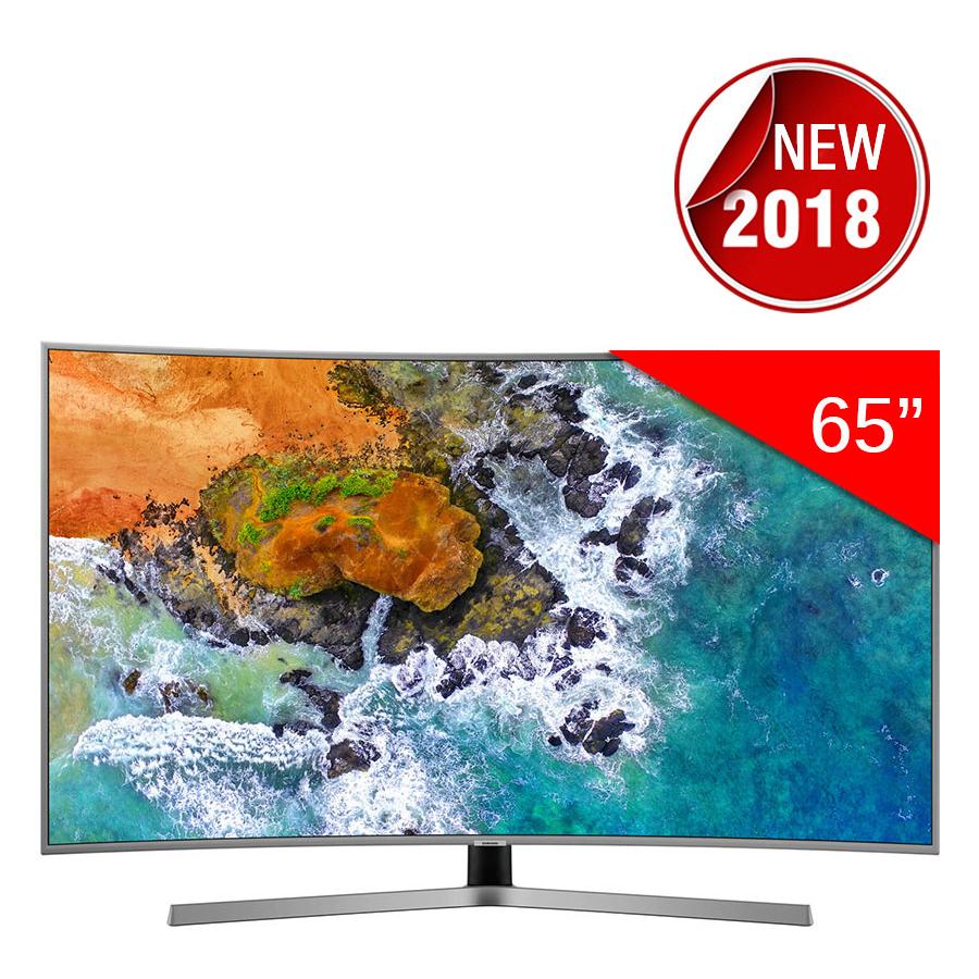 Smart Tivi Màn Hình Cong Samsung 65 inch UHD 4K UA65NU7500KXXV - Hàng Chính Hãng