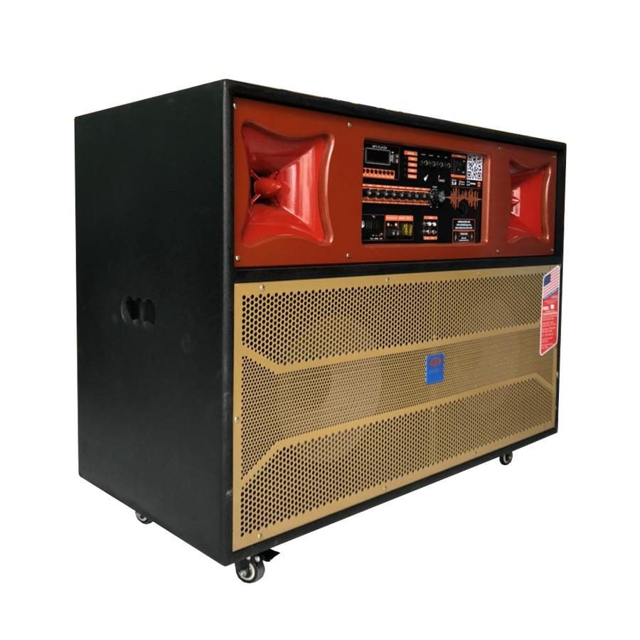 Loa Điện Karaoke Di Động Jagumax Pro-810P Công Suất 800W (Chính hãng sản xuất tại Việt Nam)