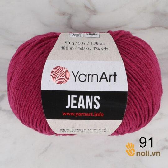 Len Jeans - YarnArt (Mã 90-91)