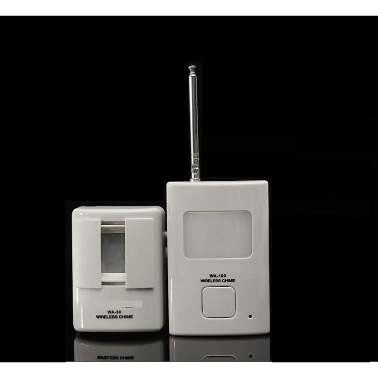 Báo động chống trộm, báo khách cảm biến hồng ngoại V2