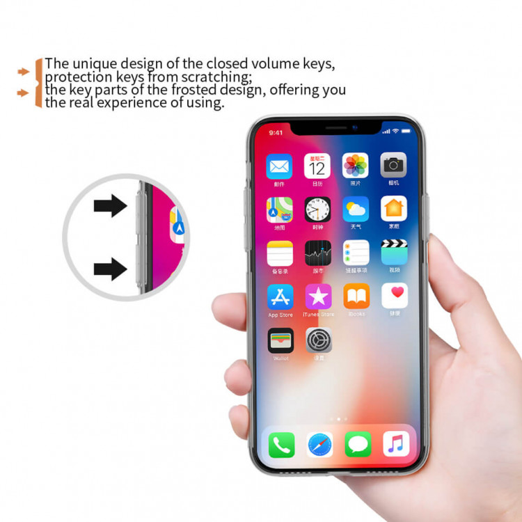Nillkin Nature Series TPU case for Apple iPhone XS, iPhone X