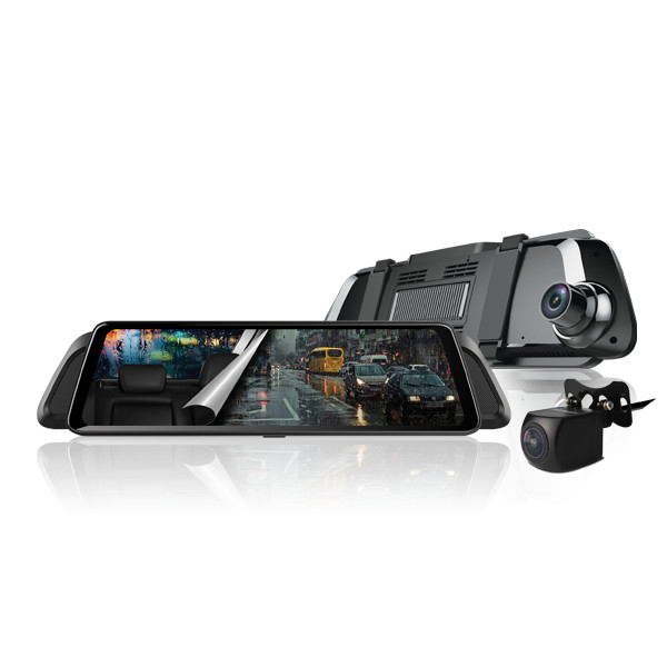 Camera hành trình  - Dạng gương - Dẫn đường S1 Phát Wifi - Định vị  Truyền Video TỪ XA Tích Hợp Thẻ Nhớ 32GB Sim 4G VIETMAP iDVR P2 - Hàng Chính Hãng