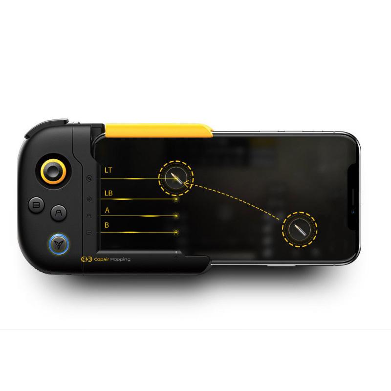 Tay cầm chơi game Liên quân, Pubg, Rules, Free Fire , Fortnight trực tiếp từ Appstore cho iOs iPhone 6 đến iphone 8 Plus Promax FLYDIGY WASP - Hàng Chính Hãng