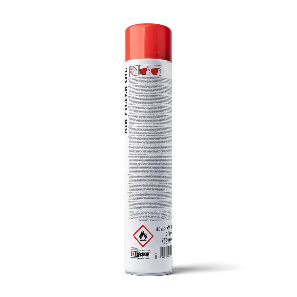 Chai xịt dầu tẩm dưỡng lọc gió Ipone Air Filter Oil Spray (750ml)