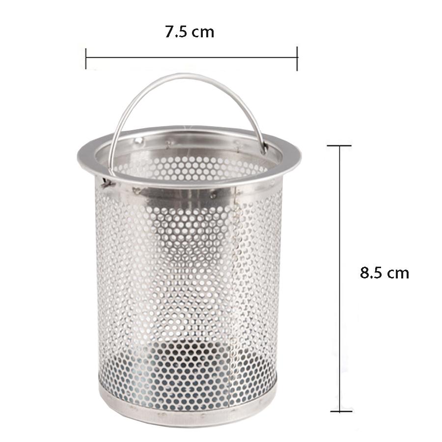 Combo 2 nắp chắn nước và 2 rọ chặn rác dành cho bồn rửa chén inox