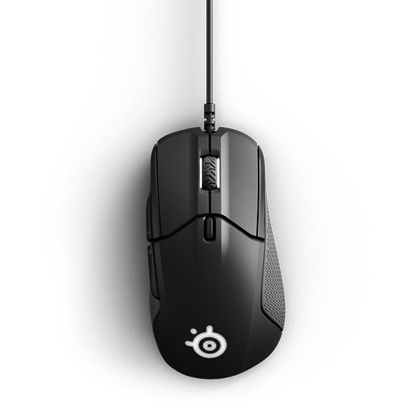 Chuột gaming SteelSeries Rival 310 Black (RGB) - Hàng chính hãng