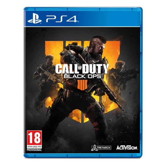 Đĩa game Ps4: Call Of Duty Black Ops 4 Hệ Eu - Hàng nhập khẩu