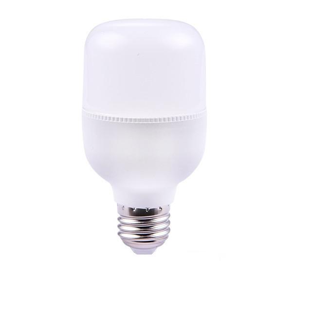 Bóng Led Bulb trụ nhựa ánh sáng trắng ( 5W - 10W - 15W - 20W - 30W - 40W - 50W ) cao cấp, tinh tế, tuổi thọ cao