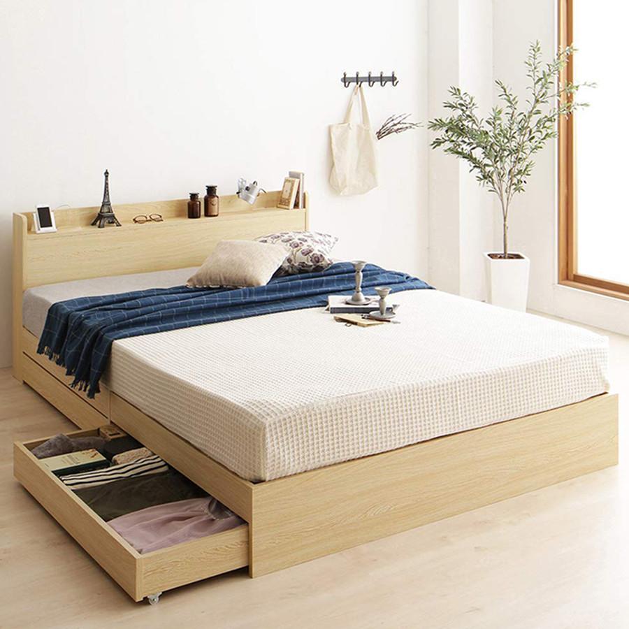 Giường ngủ Châu Âu cao cấp - alala.vn (1m4x2m)