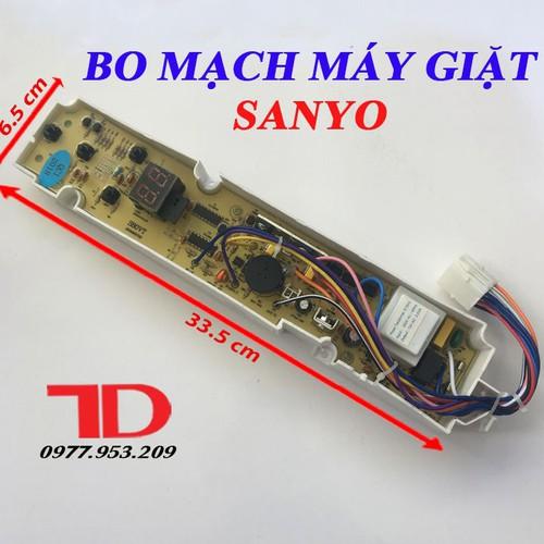 Bo mạch dành cho máy giặt SANYO 4 Nút S80VT hàng thay thế