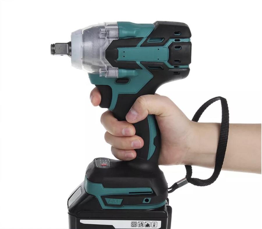 Máy khoan cầm tay không dây sạc pin Lithium không chổi than (kèm 2 pin)