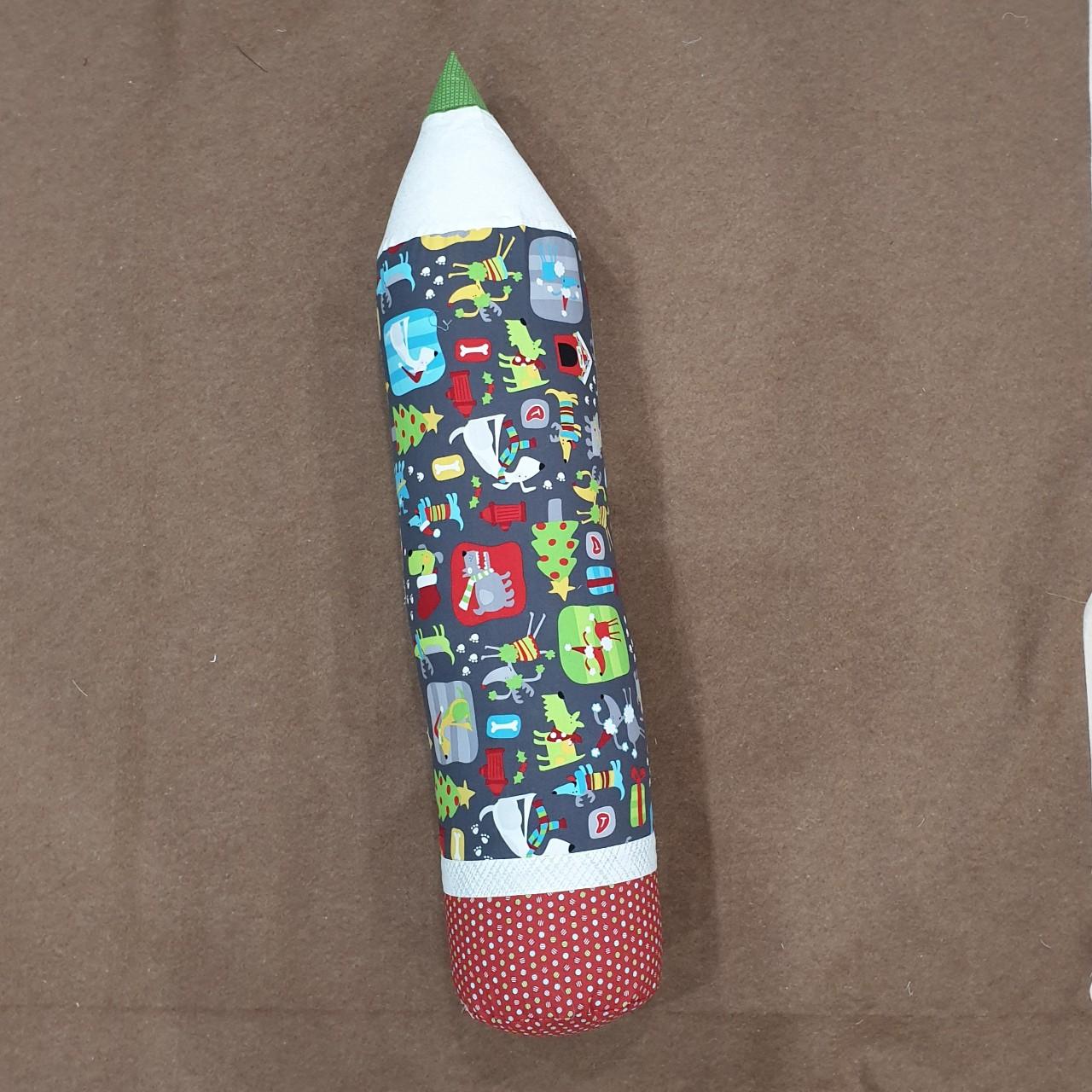Gối ôm bút chì handmade cho bé trai, bé gái mẫu giáng sinh, noel,  christmas cá tính