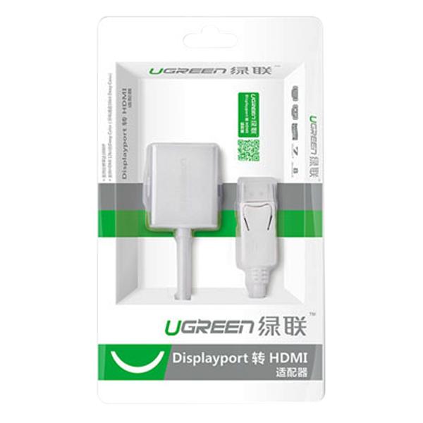Cáp Chuyển Đổi DisplayPort Sang HDMI Ugreen 20411 - Hàng Chính Hãng