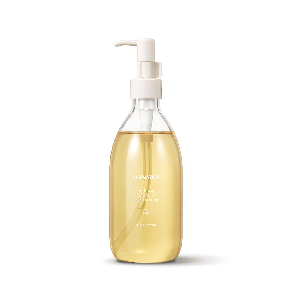 Dầu làm sạch tẩy trang chiết xuất dầu dừa Aromatica Natural Coconut Cleansing Oil 300ml