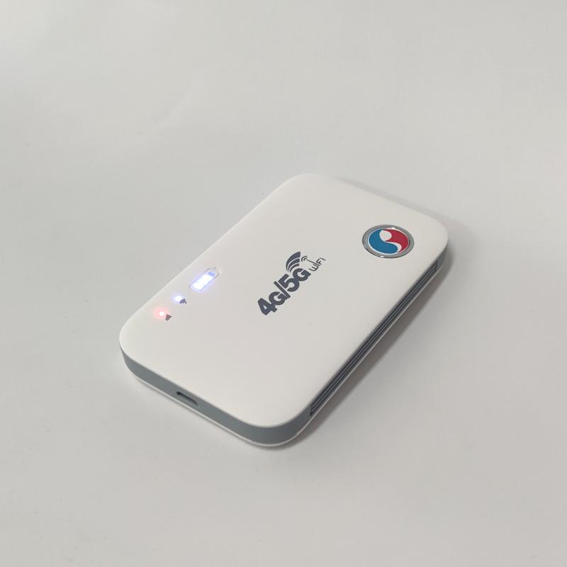 Thiết bị phát wifi từ sim 4G/5G data teminal E5573C tốc độ cao - Hỗ trợ vừa sạc vừa dùng (Trắng)