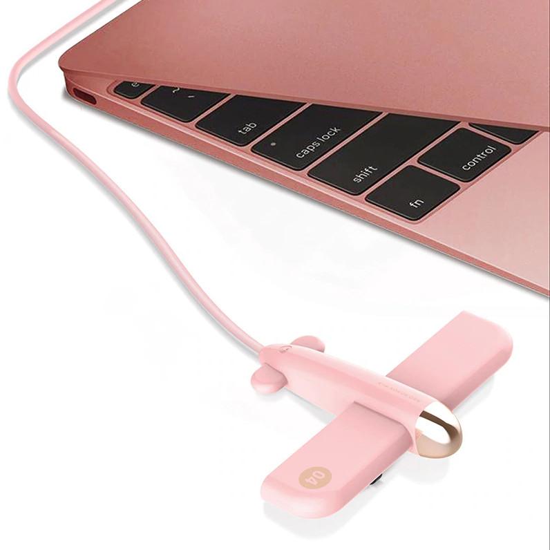 Cổng Hub USB thiết bị ngoại vi 4 cổng USB mô hình máy bay E308 - Màu ngẫu nhiên