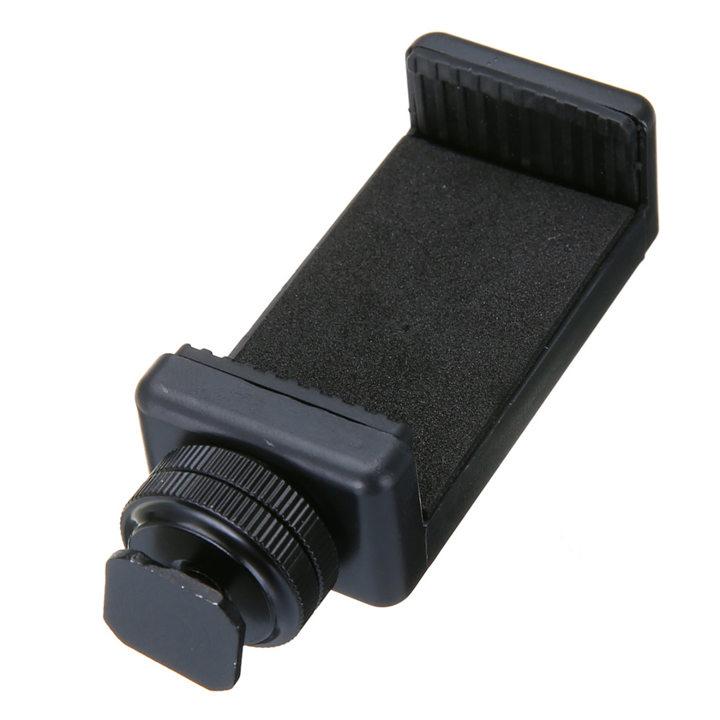 Kẹp điện thoại gắn chân hot shoe flash máy ảnh