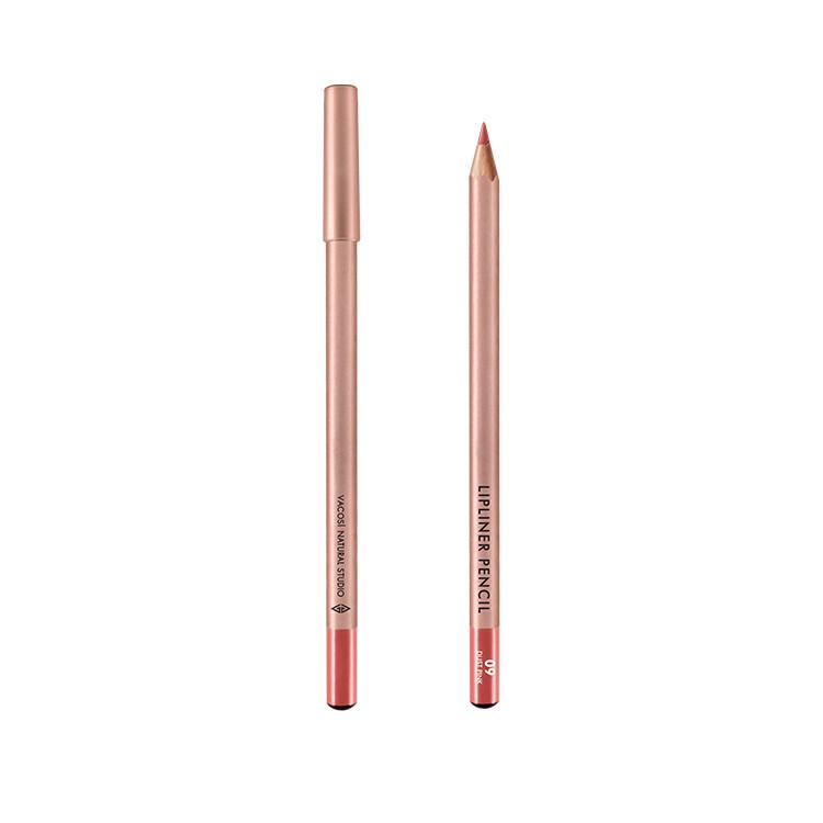 (BẢN MỚI) Chì Kẻ Viền Môi Vacosi Lipliner Pencil No.9 Dust Pink - Hồng Nude