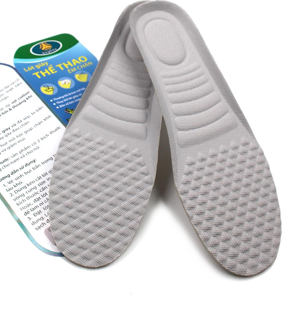 Lót giày mặt vân massage lòng bàn chân buybox BBPK06