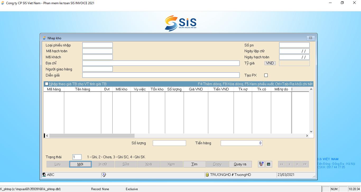Phần mềm kế toán quản trị SIS INNOVA 9.0 dành cho doanh nghiệp Sản xuất - Xây lắp. Hàng chính hãng - Hỗ trợ mọi nghiệp vụ doanh nghiệp - Nhanh chóng, an toàn, tiện ích - Đầy đủ phân hệ kế toán - Cập nhật thông tư liên tục. Có thể sử dụng ONLINE