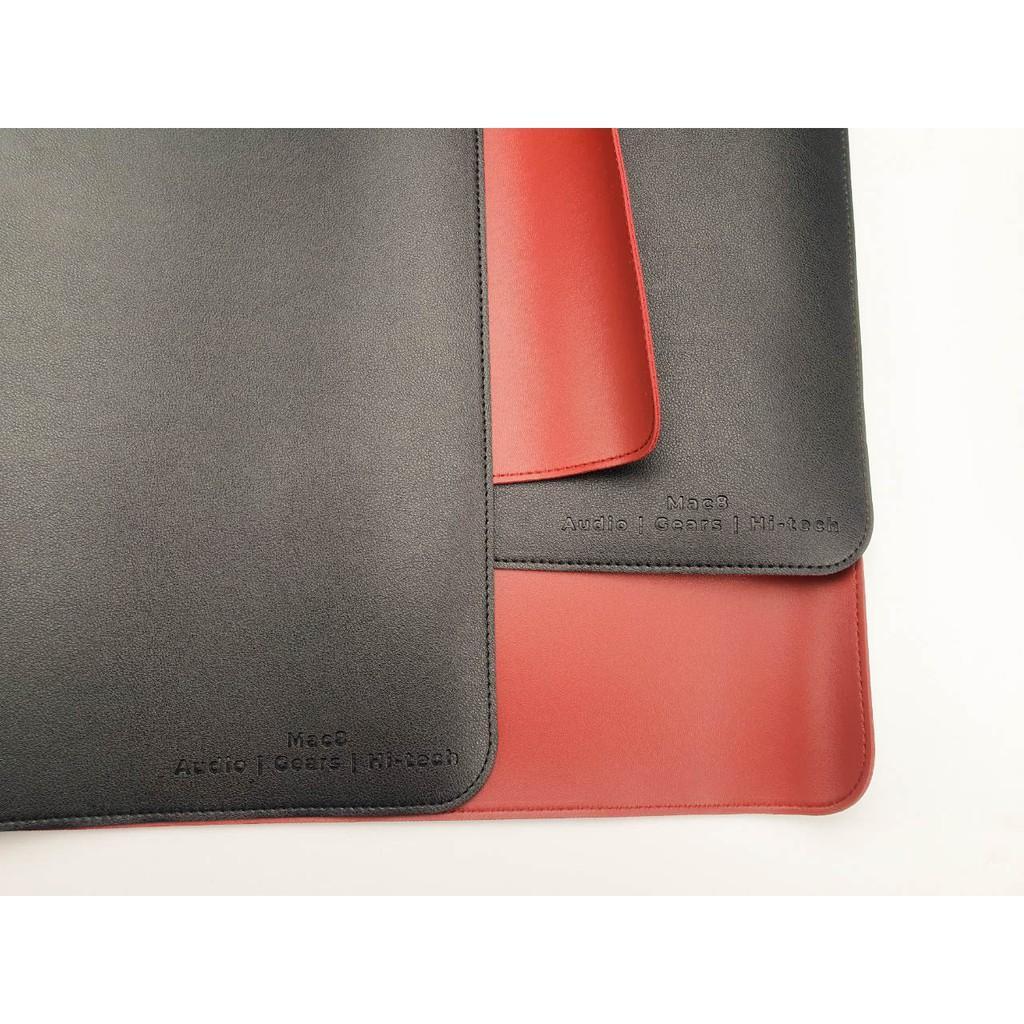 Lót chuột bản lớn chất liệu giả da PU cao cấp kích thước 40cmx80cm 2 mặt (Mouse pad Deskpad Desk pad)