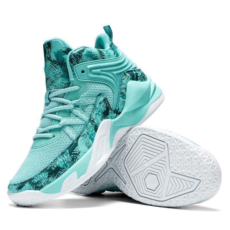 Giày bóng rổ nam A23 - Màu xanh