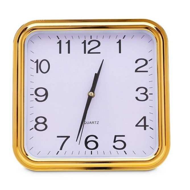 Đồng hồ kim trôi treo tường 368 (Vàng đồng)