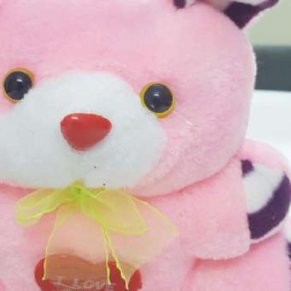 Gấu bông Oenpe đeo nơ I LOVE YOU