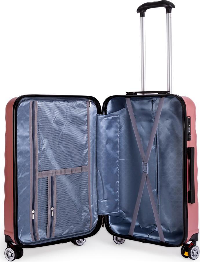 Vali Travel King FZ126 (24 inch) – Hồng