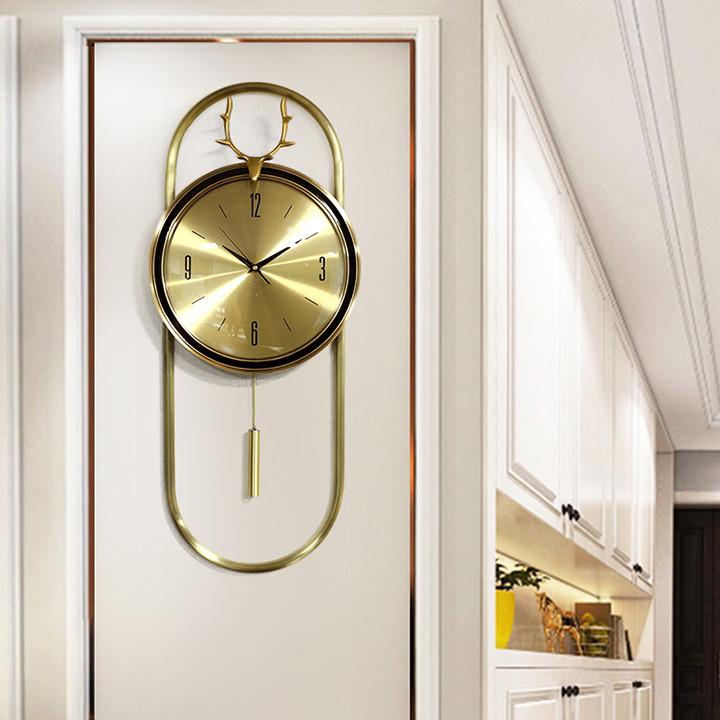 Đồng hồ treo tường - Phong cách hiện đại đẹp