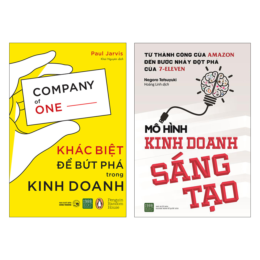 Combo Khác Biệt Để Bứt Phá Trong Kinh Doanh + Mô Hình Kinh Doanh Sáng Tạo (2 Cuốn)