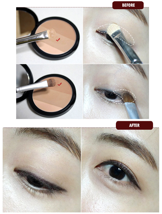 Phấn Tạo Khối Macqueen Fake Up 3 Color Shading 3