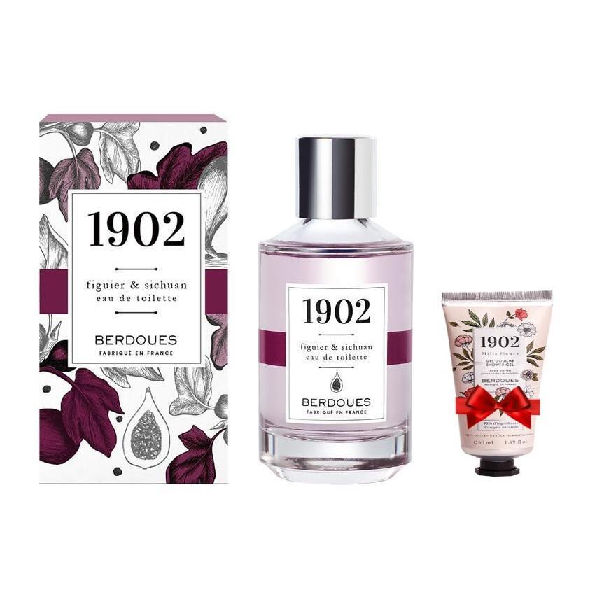 Nước Hoa Berdoues 1902 Figuier & Sichuan Eau De Toilette 100ml + Tặng Kèm 1 Sữa Tắm Berdoues 1902 Shower 50ml