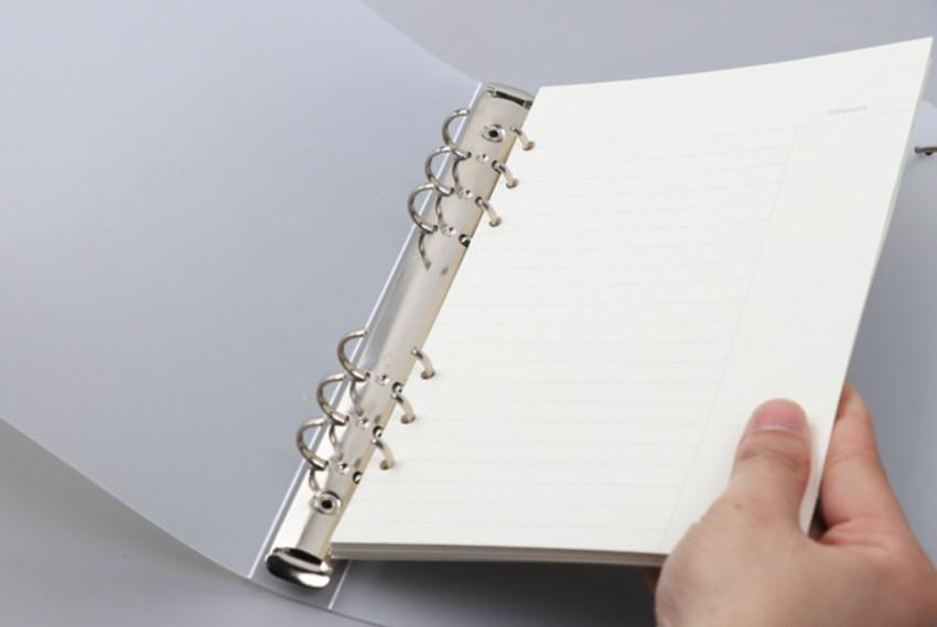 Tập 45 tờ giấy refill cỡ A5 6 lỗ nhiều mẫu tùy chọn