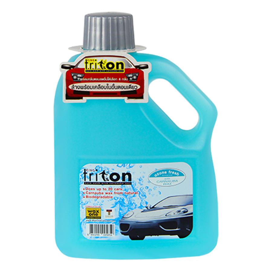 Nước Rửa Xe Sáng Bóng Và Bảo Vệ Sơn Wax One Shampoo (1L) - Giao Màu Ngẫu Nhiên