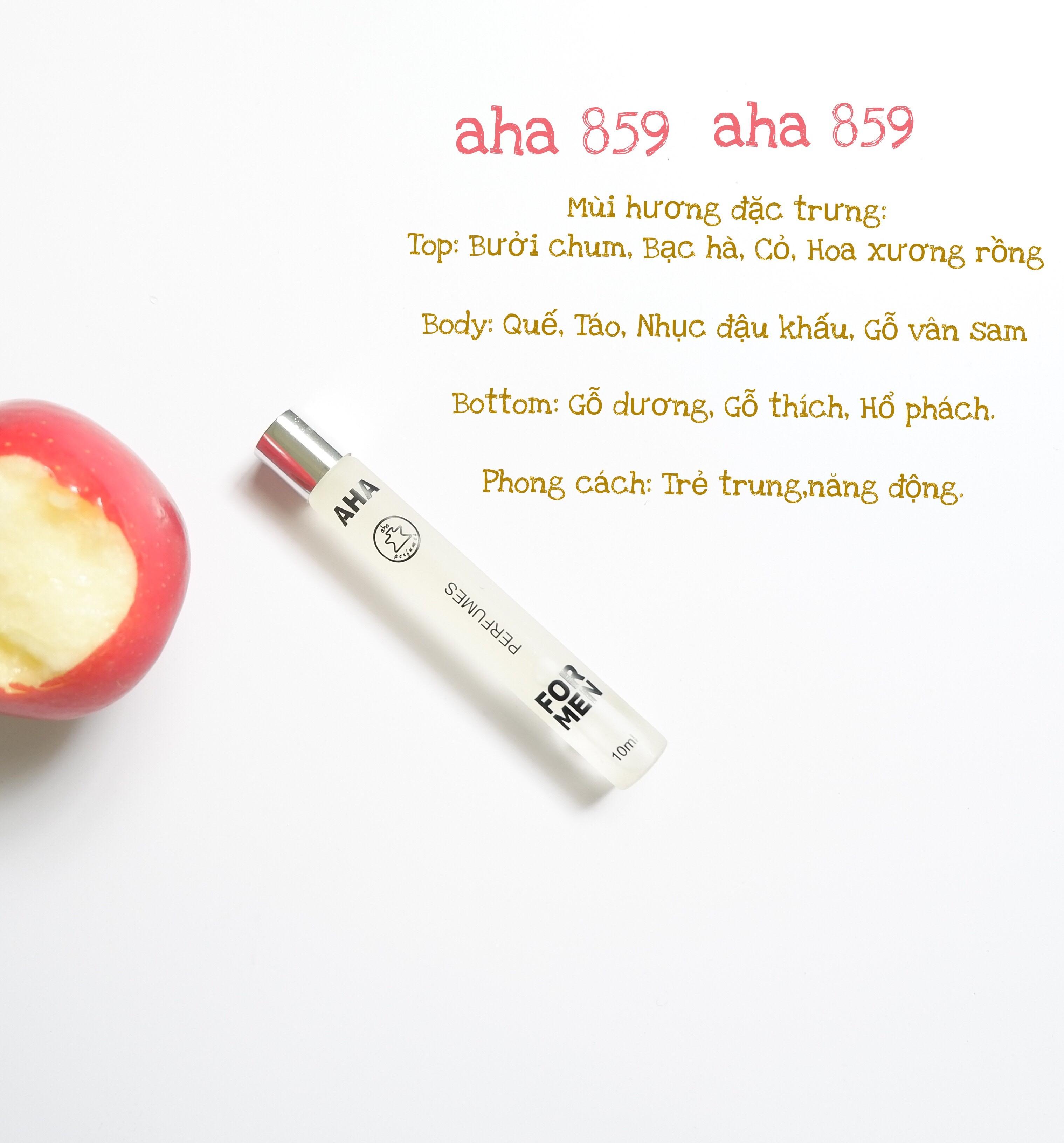 Nước Hoa Nam Aha 859 - 10ml