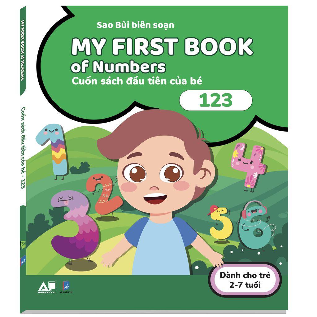 My First Books Of Numbers Cuốn Sách Đầu Tiên Của Bé 123