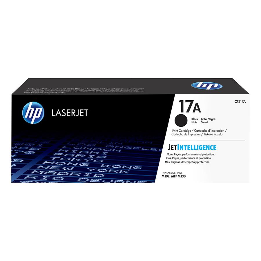 Mực in Laser HP 17A Black LaserJet Toner Cartridge Đen (Máy in HP LaserJet Pro M102A/M102W/HP LaserJet Pro MFP M130A/M130NW/M130FN/M130FW/CF217A) - Hàng Chính Hãng