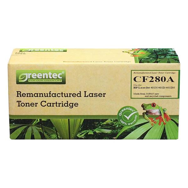 Mực In Laser Đen Trắng Greentec 80A (CF280A) - Hàng Chính Hãng