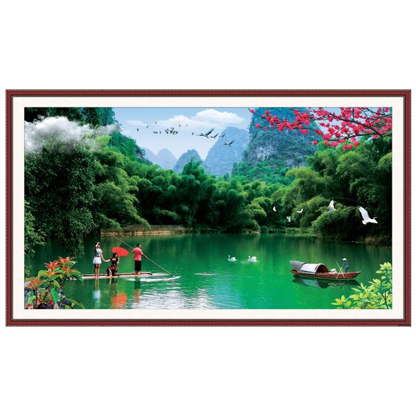 Tranh Nghệ Thuật Phong Thủy Q12K-ZTH(361)
