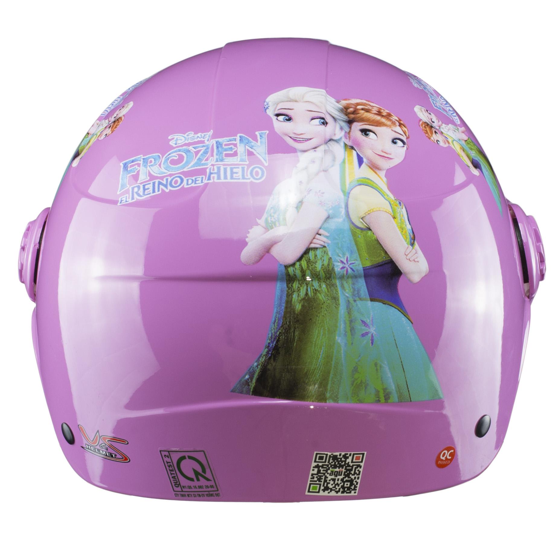 Nón bảo hiểm nửa đầu Bagu Elsa