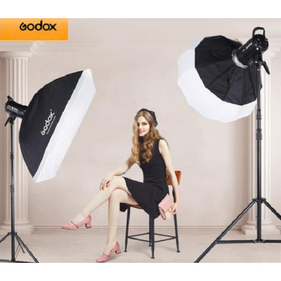 Bộ 2 đèn led studio Godox SL60W 120w Hàng chính hãng.