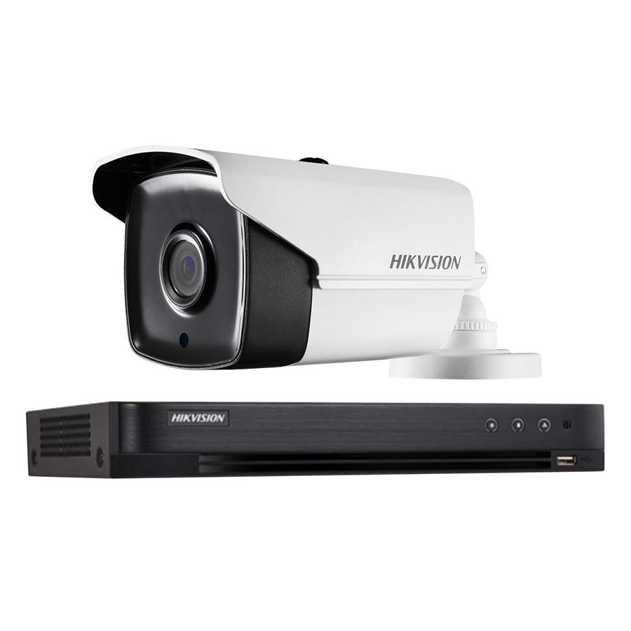 Trọn bọ 1 Camera quan sát HIKVISION TVI 3 Megapixel DS-2CE16F1T-IT chất lượng cao - Hàng chính hãng