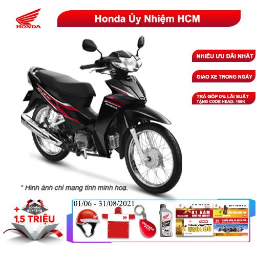 Xe Số Honda Blade 110cc Tem Mới - Phanh Cơ, Vành Nan